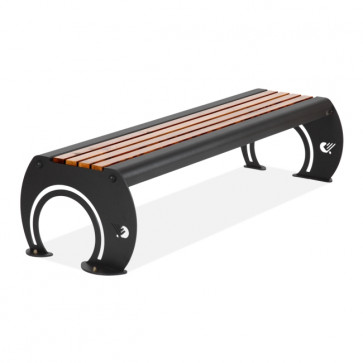 Osiria with wooden planks Bench