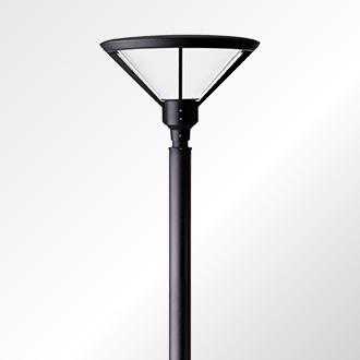 Anesti post top luminaire