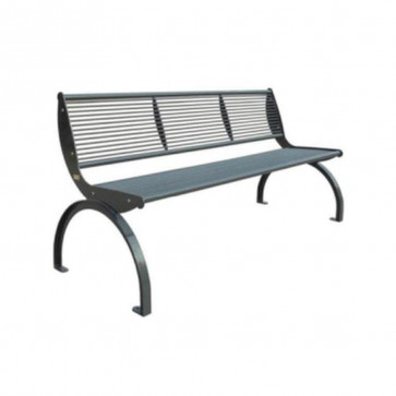 Cetra Bench with Backrest