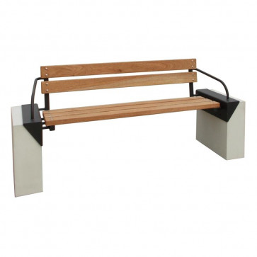 Cipro Bench with Backrest