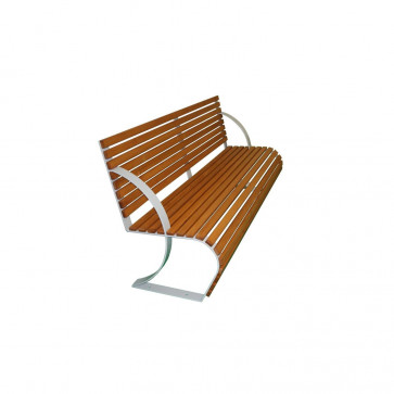 Diamante Bench with Backrest