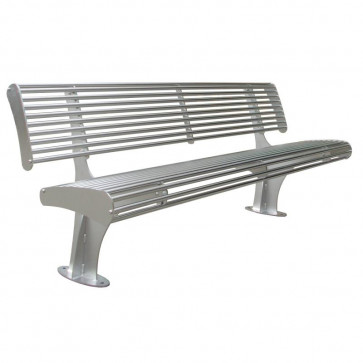 Garda Bench with Backrest