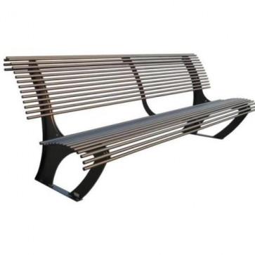 Koper Bench with Backrest
