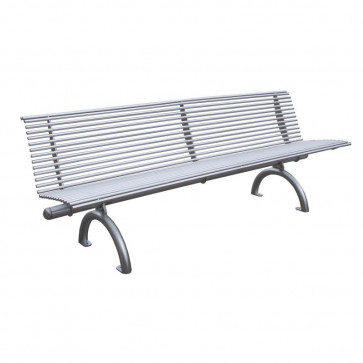 Rest Bench with Backrest