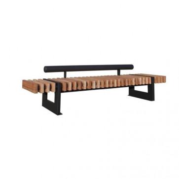 Sevilla Bench With Backrest