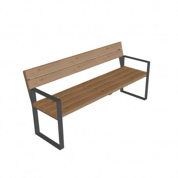 Simply Bench with Backrest