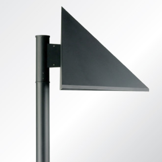 Triangle area lighting luminaire