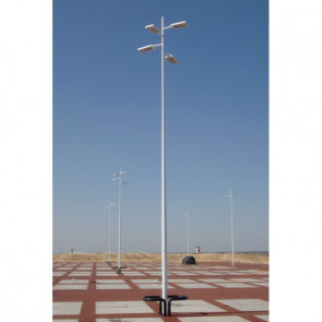 Conical Decorative Pole with Multi Outreach