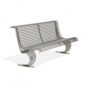 Luxe Stainless steel Seat