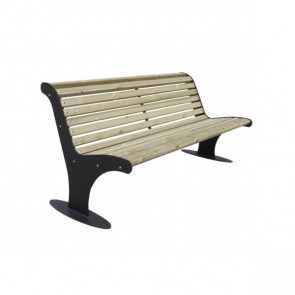 Athena Bench with Backrest