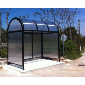 Flower Bus Shelter