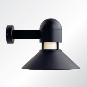 Columbus medium shade wall light