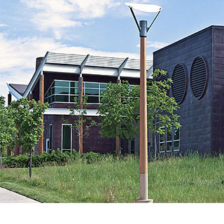 Architectural Wooden Poles