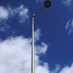 Straight Conical Poles