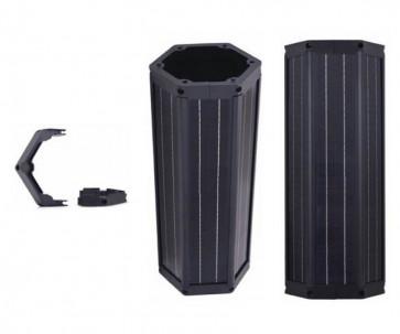 Vertically integrated Monocrystalline, Polycrystalline and Thin Film Solar Modules
