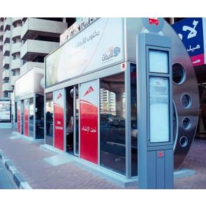 Dubai RTA AC Bus Shelter