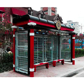 Victorian Bus Shelter