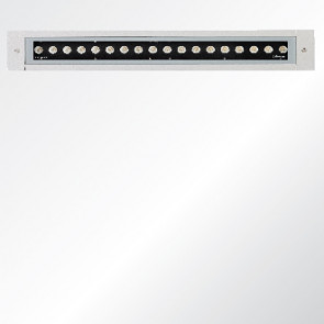 Light linear recessed wall light LED luminaire