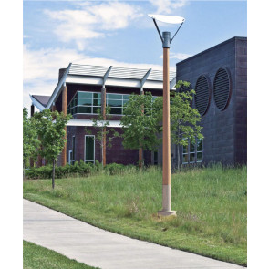 Round Tapered Wood Poles